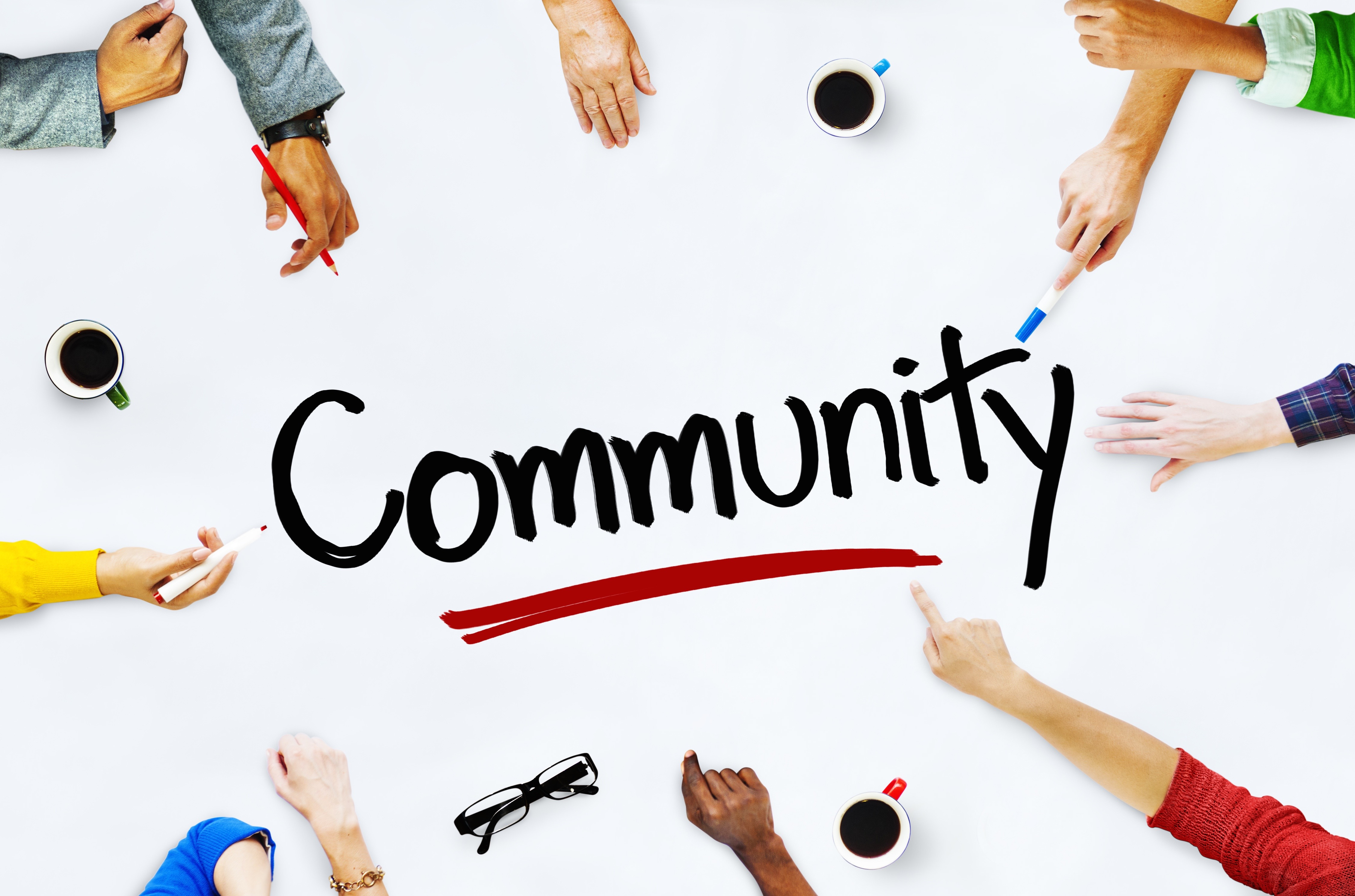 how to help the community